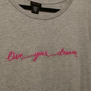 "Torrid ""Live Your Dream"" tee 0 NWOT"
